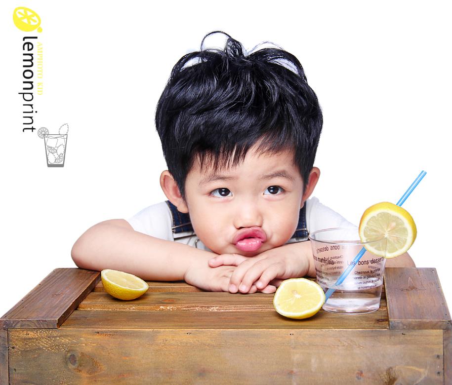 柠檬男孩 儿童摄影