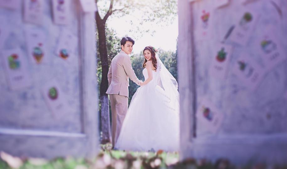 一米阳光 婚纱照