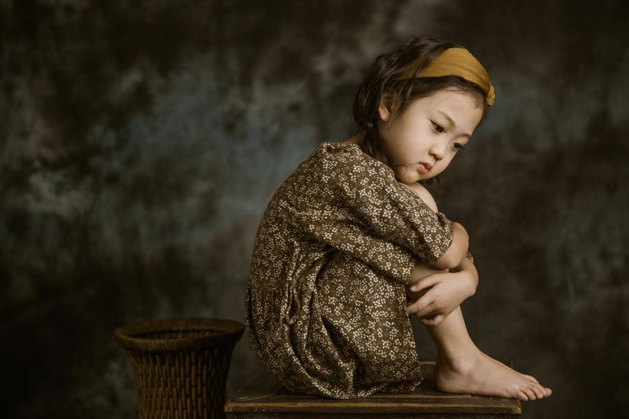 复古风(4)_儿童摄影_黑光图库_黑光网