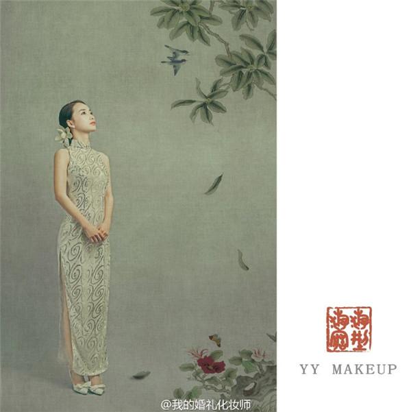 风情万种的旗袍新娘~彰显古典韵味…&hellip