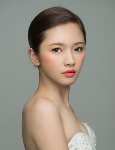 小清新新娘妆的化妆技巧2