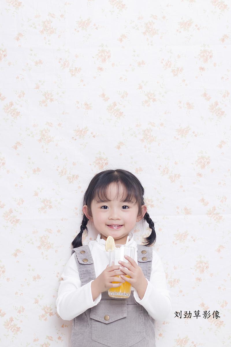 橙汁公主 儿童摄影