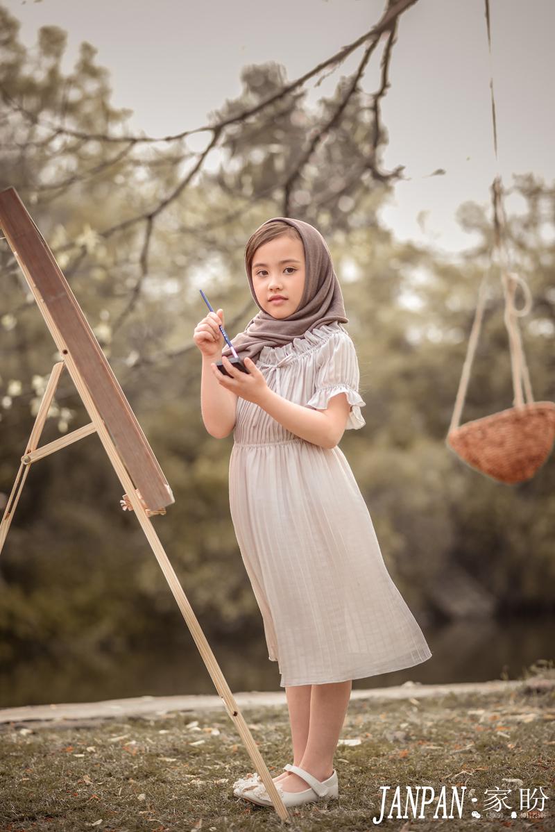田園復古 兒童攝影