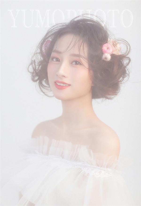 甜美浪漫新娘妆 化妆造型图片