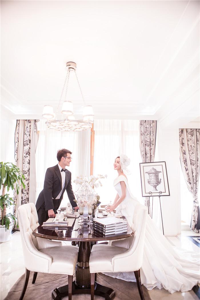 别墅 婚纱照