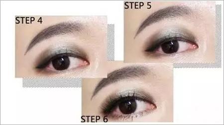 4款超迷人明星单眼皮眼妆画法