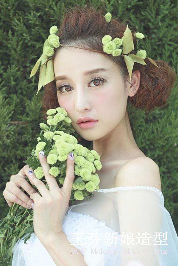 梦幻森系新娘造型欣赏