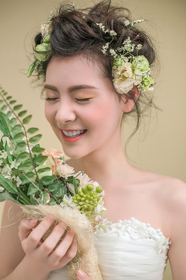 甜美的新娘妆面欣赏