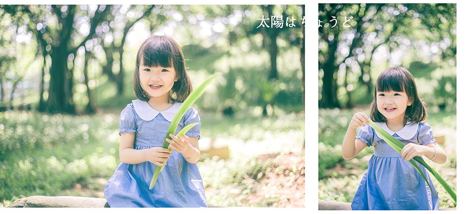 日系小清新 儿童摄影