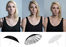 摄影棚人像摄影之认识不同柔光工具的具体效果