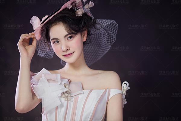 欧式复古新娘造型_妆面赏析_影楼化妆_黑光网图片