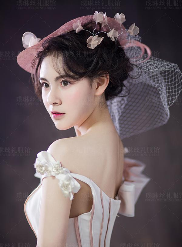 欧式复古新娘造型图片