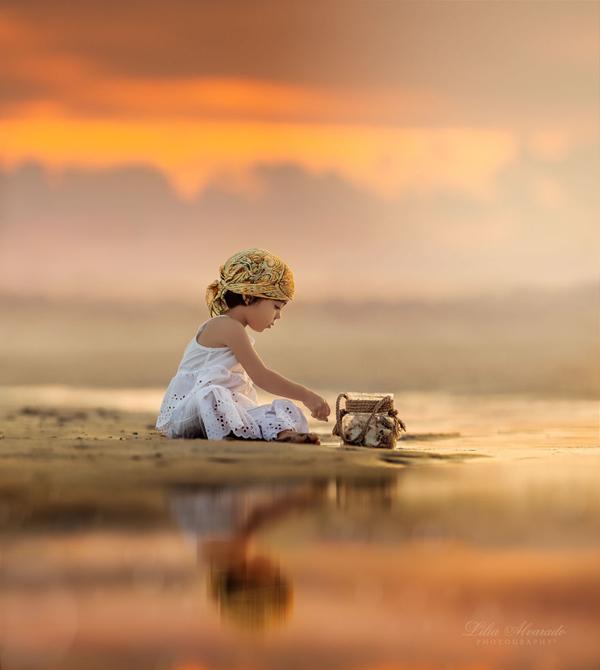 温馨儿童摄影 可爱天使的成长瞬间