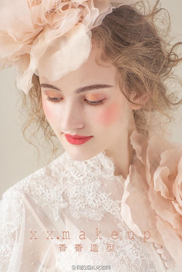 欧式复古新娘造型欣赏图片