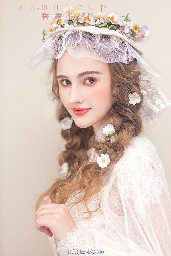 欧式复古新娘造型欣赏