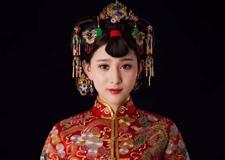 传统的中式新娘造型欣赏