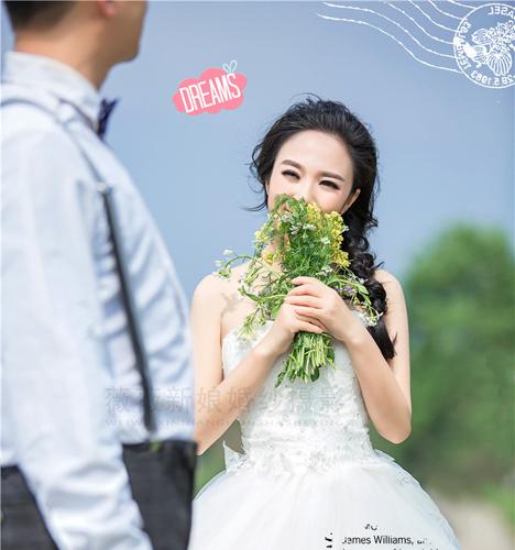 遇见最美的你 婚纱照