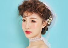 甜美清新的日系新娘