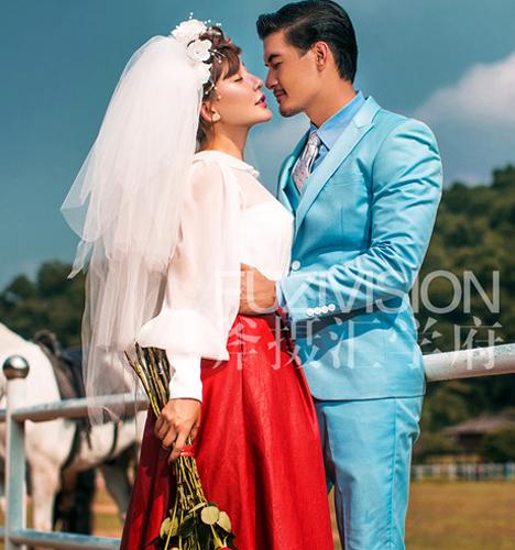 马场 婚纱照