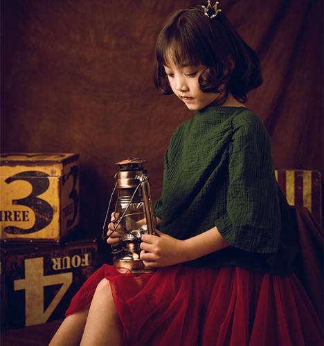 复古风韵 儿童摄影