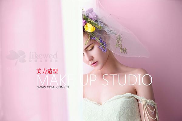 创意新娘造型_妆面赏析_影楼化妆_黑光网