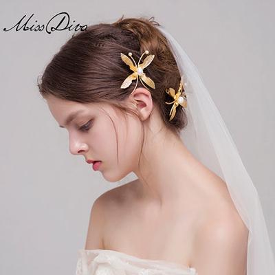 巴洛克风格复古新娘婚饰欣赏图片
