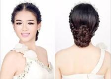 最新影楼资讯新闻-教你唯美的新娘编发 这发型真的美