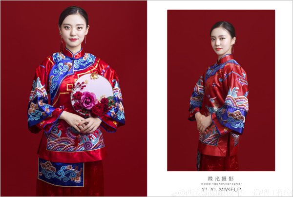 传统中式新娘造型(2)_妆面赏析