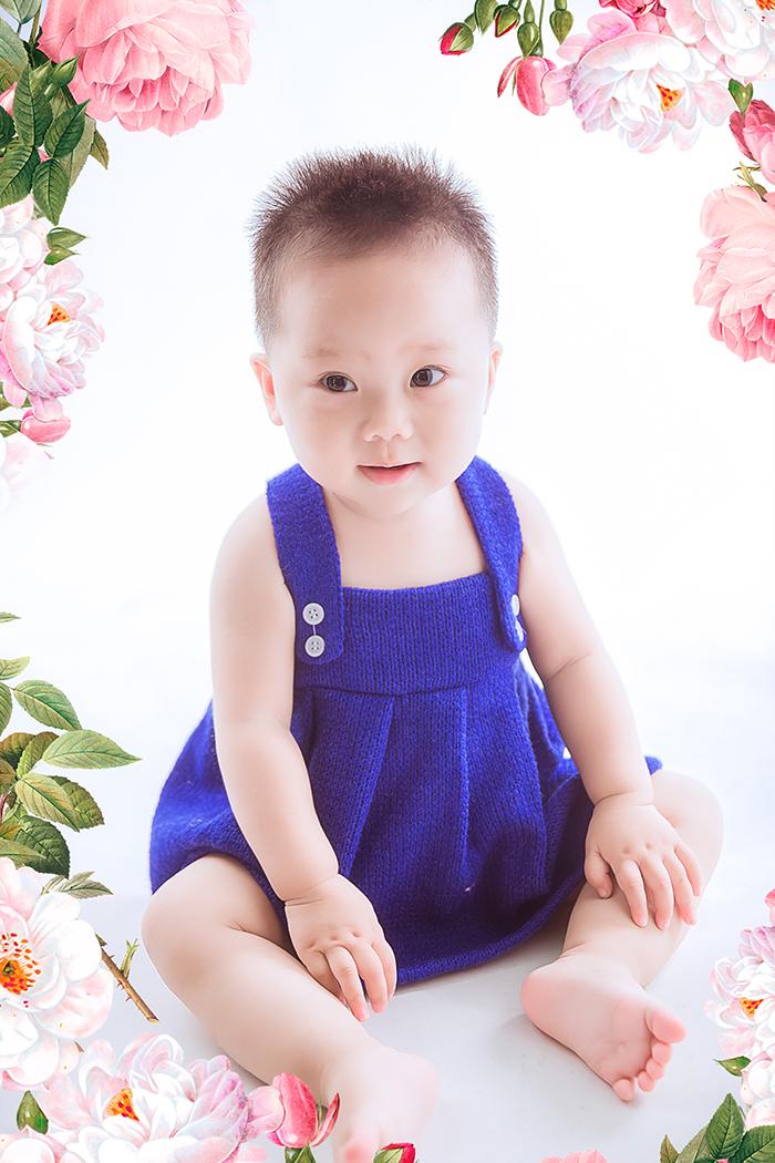 小宝宝可爱照片姐妹