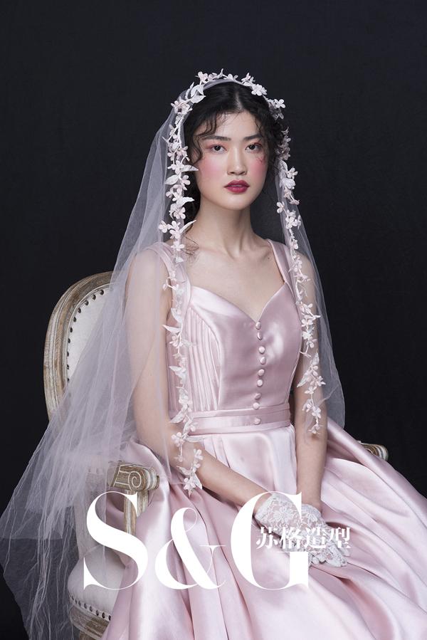 新娘头纱造型 打造超凡仙女范儿图片