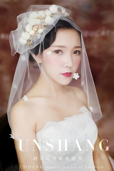 新娘仙美头纱造型 尽显女人魅力图片