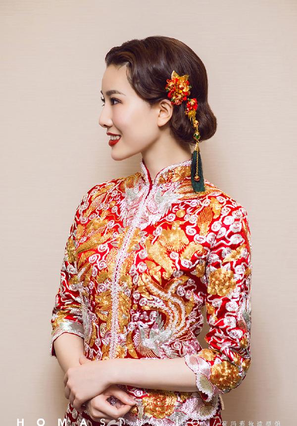 古典的中式新娘造型 演绎温婉娴熟中国风图片