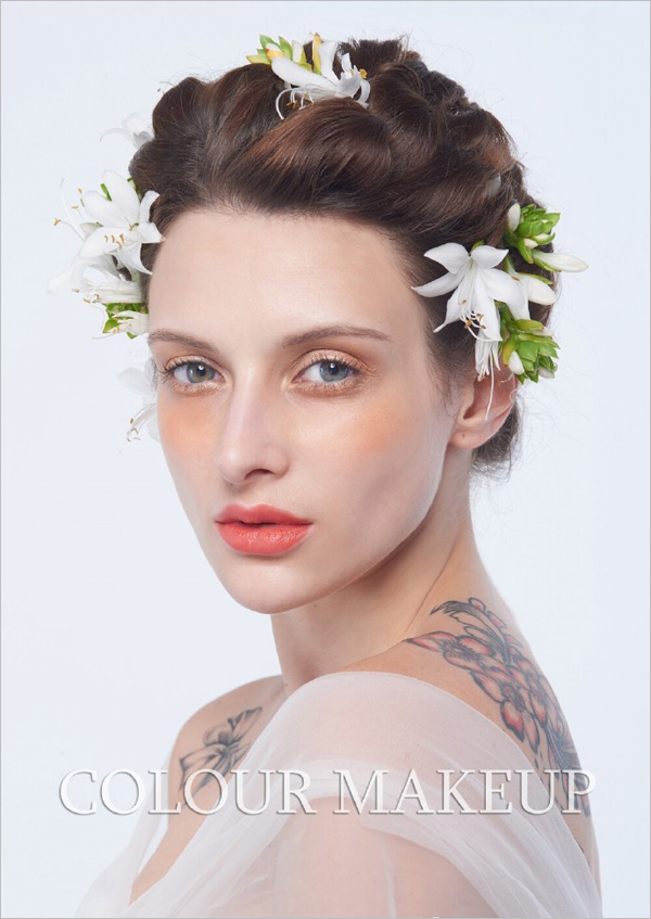 森系造型 打造唯美浪漫新娘图片