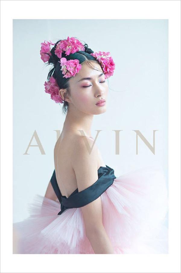 创意时尚美妆新娘造型图片