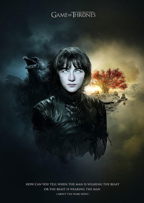 冰与火之歌:《权力的游戏》海报欣赏图片