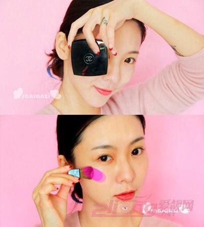 韩式新娘妆的画法步骤