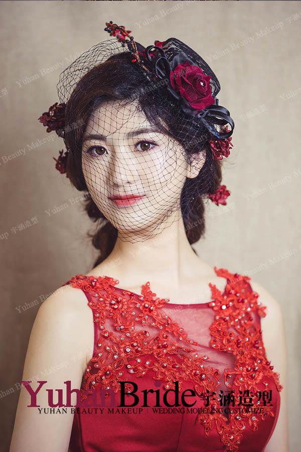 欧式新娘造型 优雅复古气质出众(2)_妆面赏析_影楼_网图片