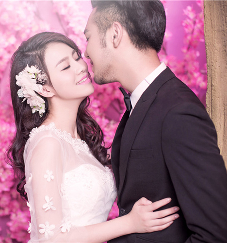 爱浪漫 婚纱照
