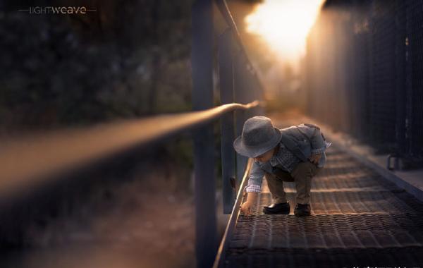 唯美自然光下的儿童摄影_摄影师与影像_影楼