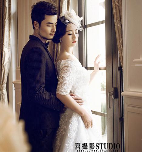 欧式室内 婚纱照