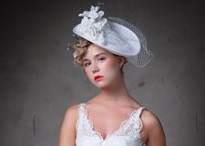 时尚轻复古新娘造型 气质优雅十足