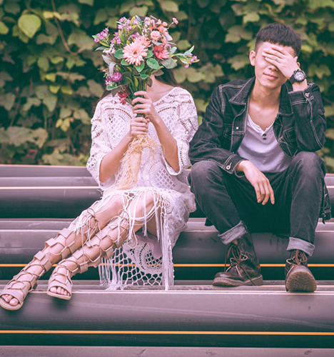 爱青春 婚纱照
