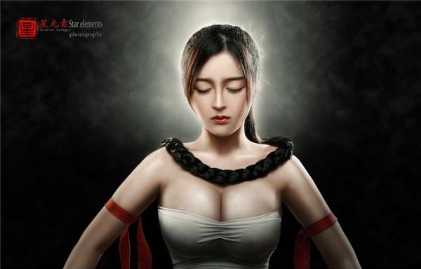 勇往直前:cosplay盲僧·李青炫酷后期作品