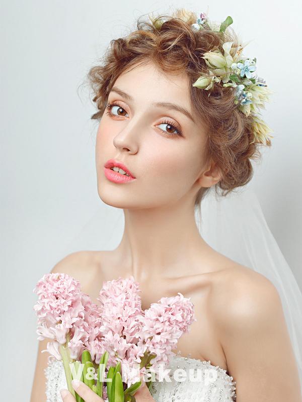 小清新森系新娘造型 演绎森系田园风格