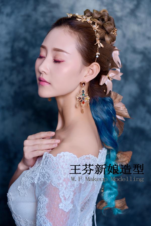 复古巴洛克新娘造型圆你女王梦 (2)_妆面赏析_影楼_网