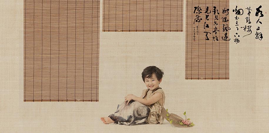 中国风(6)_儿童摄影_黑光图库_黑光网