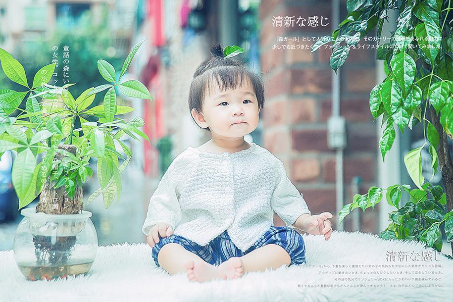 日系文艺风 儿童摄影