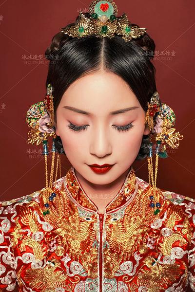 大美中式新娘造型 经典中国风