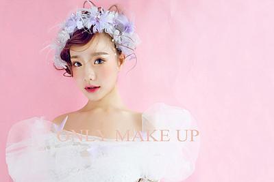 韩式惊艳唯美新娘造型 _妆面赏析_影楼化妆_黑光网