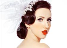 最新影樓資訊新聞-時尚復古手推波紋新娘造型步驟 打造復古俏麗新娘